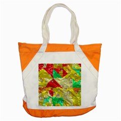 Colorful 3d Texture   			accent Tote Bag by LalyLauraFLM