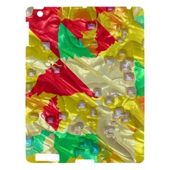 Colorful 3d Texture   			apple Ipad 3/4 Hardshell Case by LalyLauraFLM