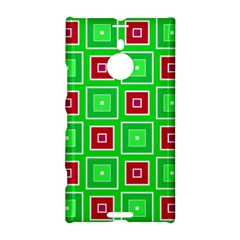 Green red squares pattern    			Nokia Lumia 1520 Hardshell Case by LalyLauraFLM