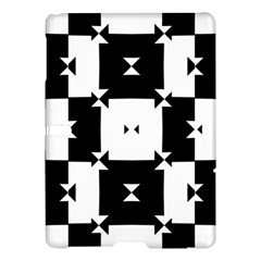Black And White Check Pattern Samsung Galaxy Tab S (10 5 ) Hardshell Case  by dflcprints