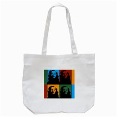 Rita Tote Bag (white) by DryInk