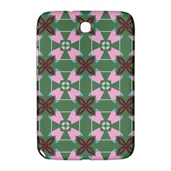Pink Brown Flowers Pattern     			samsung Galaxy Note 8 0 N5100 Hardshell Case by LalyLauraFLM