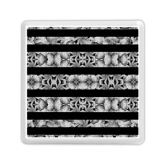 Alien Seamless Stripes Memory Card Reader (square)  by dflcprints
