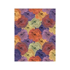 Vintage Floral Collage Pattern Shower Curtain 48  x 72  (Small)  by dflcprints