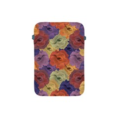 Vintage Floral Collage Pattern Apple Ipad Mini Protective Soft Cases by dflcprints