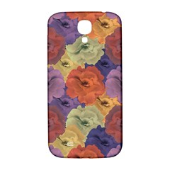 Vintage Floral Collage Pattern Samsung Galaxy S4 I9500/i9505  Hardshell Back Case by dflcprints