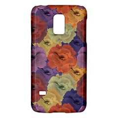 Vintage Floral Collage Pattern Galaxy S5 Mini by dflcprints
