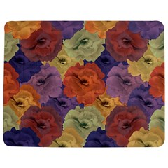 Vintage Floral Collage Pattern Jigsaw Puzzle Photo Stand (rectangular)