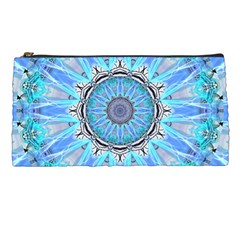 Sapphire Ice Flame, Light Bright Crystal Wheel Pencil Cases by DianeClancy