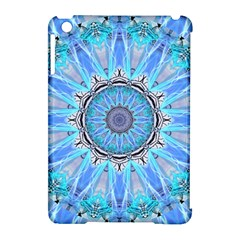 Sapphire Ice Flame, Light Bright Crystal Wheel Apple Ipad Mini Hardshell Case (compatible With Smart Cover) by DianeClancy