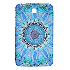 Sapphire Ice Flame, Light Bright Crystal Wheel Samsung Galaxy Tab 3 (7 ) P3200 Hardshell Case  by DianeClancy
