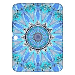 Sapphire Ice Flame, Light Bright Crystal Wheel Samsung Galaxy Tab 3 (10 1 ) P5200 Hardshell Case  by DianeClancy
