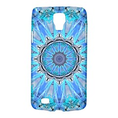 Sapphire Ice Flame, Light Bright Crystal Wheel Galaxy S4 Active by DianeClancy