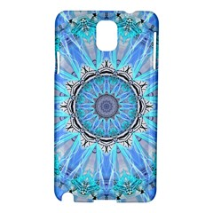 Sapphire Ice Flame, Light Bright Crystal Wheel Samsung Galaxy Note 3 N9005 Hardshell Case by DianeClancy