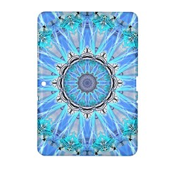 Sapphire Ice Flame, Light Bright Crystal Wheel Samsung Galaxy Tab 2 (10 1 ) P5100 Hardshell Case  by DianeClancy