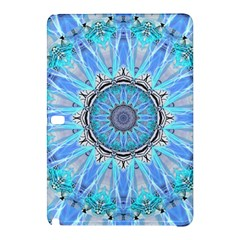 Sapphire Ice Flame, Light Bright Crystal Wheel Samsung Galaxy Tab Pro 10 1 Hardshell Case by DianeClancy
