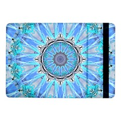 Sapphire Ice Flame, Light Bright Crystal Wheel Samsung Galaxy Tab Pro 10 1  Flip Case by DianeClancy
