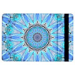 Sapphire Ice Flame, Light Bright Crystal Wheel Ipad Air 2 Flip by DianeClancy
