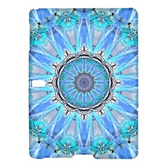 Sapphire Ice Flame, Light Bright Crystal Wheel Samsung Galaxy Tab S (10 5 ) Hardshell Case  by DianeClancy