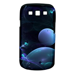 The Music Of My Goddess, Abstract Cyan Mystery Planet Samsung Galaxy S Iii Classic Hardshell Case (pc+silicone) by DianeClancy