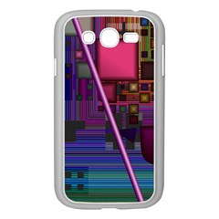 Jewel City, Radiant Rainbow Abstract Urban Samsung Galaxy Grand Duos I9082 Case (white) by DianeClancy
