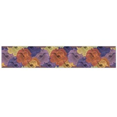 Vintage Floral Collage Print Flano Scarf (large) by dflcprintsclothing