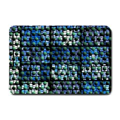 Looking Out At Night, Abstract Venture Adventure (venture Night Ii) Small Doormat  by DianeClancy