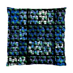 Looking Out At Night, Abstract Venture Adventure (venture Night Ii) Standard Cushion Case (two Sides) by DianeClancy