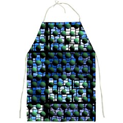 Looking Out At Night, Abstract Venture Adventure (venture Night Ii) Full Print Aprons by DianeClancy