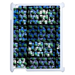 Looking Out At Night, Abstract Venture Adventure (venture Night Ii) Apple Ipad 2 Case (white) by DianeClancy