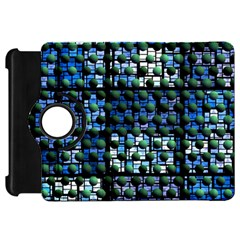 Looking Out At Night, Abstract Venture Adventure (venture Night Ii) Kindle Fire Hd Flip 360 Case by DianeClancy