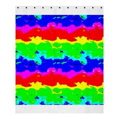 Colorful Digital Abstract  Shower Curtain 60  X 72  (medium)  by dflcprints