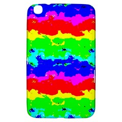 Colorful Digital Abstract  Samsung Galaxy Tab 3 (8 ) T3100 Hardshell Case  by dflcprints