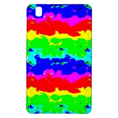 Colorful Digital Abstract  Samsung Galaxy Tab Pro 8 4 Hardshell Case by dflcprints