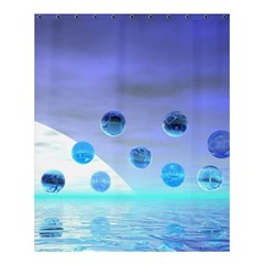 Moonlight Wonder, Abstract Journey To The Unknown Shower Curtain 60  X 72  (medium)  by DianeClancy