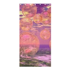 Glorious Skies, Abstract Pink And Yellow Dream Shower Curtain 36  X 72  (stall)  by DianeClancy