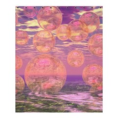 Glorious Skies, Abstract Pink And Yellow Dream Shower Curtain 60  X 72  (medium)  by DianeClancy