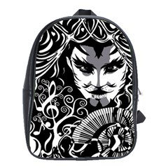 Musical Catman Backpack School Bag (large) by DryInk