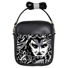Musical Catman Girl s Sling Bag by DryInk