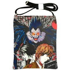 Death Note Shoulder Sling Bag by DryInk