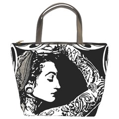 Tattooed Gypsie Bucket Handbag