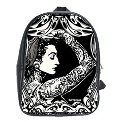 Tattooed Gypsie School Bag (large) by DryInk