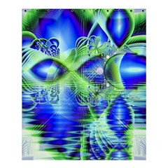 Irish Dream Under Abstract Cobalt Blue Skies Shower Curtain 60  X 72  (medium)  by DianeClancy
