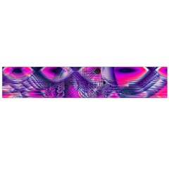 Rose Crystal Palace, Abstract Love Dream  Flano Scarf (large) by DianeClancy