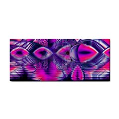 Rose Crystal Palace, Abstract Love Dream  Hand Towel by DianeClancy