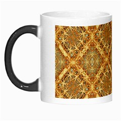 Luxury Check Ornate Pattern Morph Mugs by dflcprints