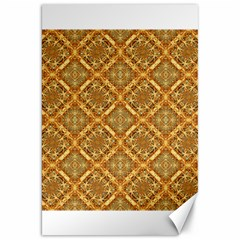 Luxury Check Ornate Pattern Canvas 20  X 30   by dflcprints