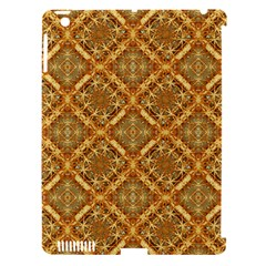 Luxury Check Ornate Pattern Apple Ipad 3/4 Hardshell Case (compatible With Smart Cover) by dflcprints