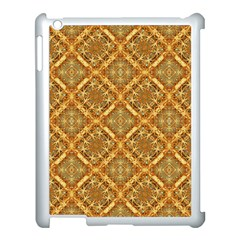 Luxury Check Ornate Pattern Apple Ipad 3/4 Case (white) by dflcprints