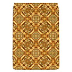Luxury Check Ornate Pattern Flap Covers (l)  by dflcprints